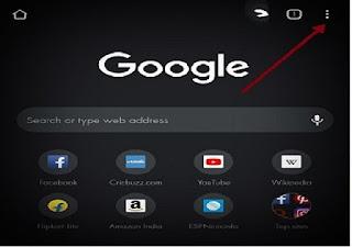 Google Chrome Homepage