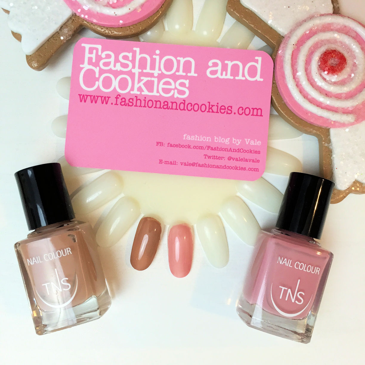 Nude Look skin shades nail polish collection by TNS Cosmetics swatches on Fashion and Cookies beauty blog, beauty blogger review