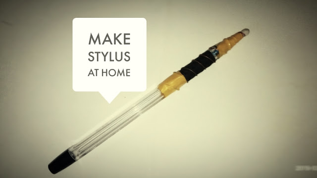 How to make Stylus Pen at Home for free.