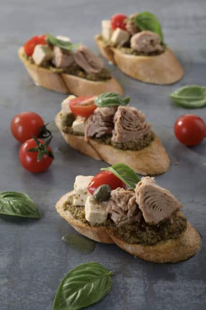 Tuna Bruschetta recipe