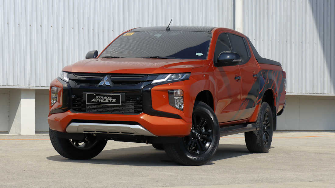 Mitsubishi Ph Brings In 2020 Strada Athlete With Prices Starting At P 1 443m W 16 Photos Specs Carguide Ph Philippine Car News Car Reviews Car Prices