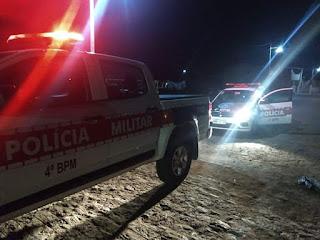 Polciais do 4° BPM prendem em Cuitegi suspeito de agredir mãe e irmã
