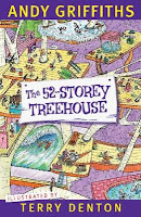 Book cover image of The 52-storey treehouse