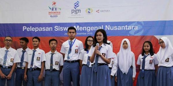 BRI dan Perhutani Siapkan Siswa Mengenal Nusantara