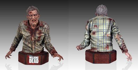 """The Walking Dead, il busto da collezione dello Zombie che """"potrebbe"""" aver morso Sophia (Gentle Giant)"""