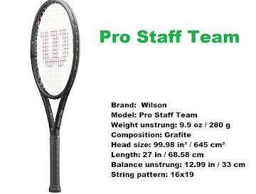 2021 Wilson Pro Staff Team tennis racket