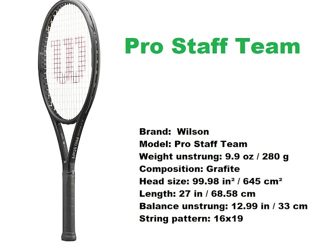 Wilson Pro Staff Team racket