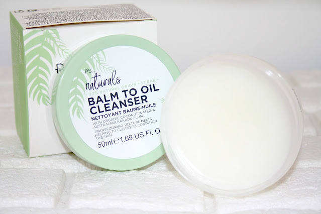 Primark PS... Naturals Balm to Oil Cleanser