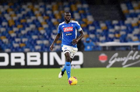 maglie calcio 2020: Napoli   Nuova Maglia Kalidou Koulibaly 2020