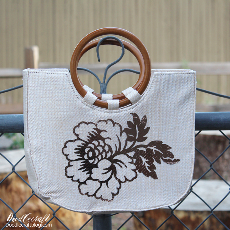 Rose gold shimmers and looks stunning on this straw shoulder bag tote.