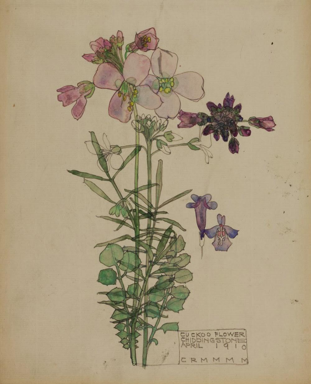 Charles Rennie Mackintosh Flower Prints