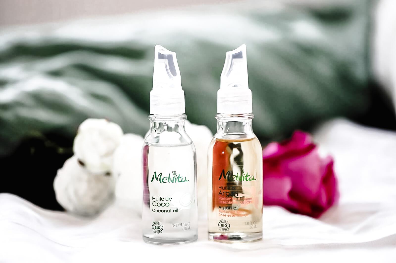 Melvita Huile Coco et Argan Parfumé Rose avis