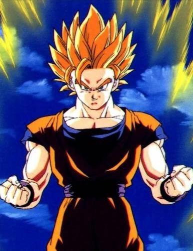 Son Goku Super Saiyan Ultimate Form | Anime Jokes Collection
