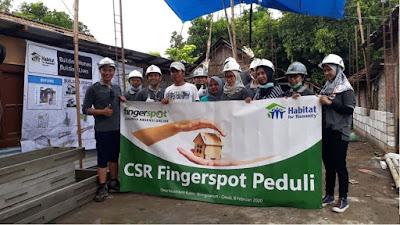 CSR Fingerspot Peduli