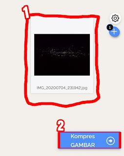 Cara mengkompres foto terbaru tanpa aplikasi