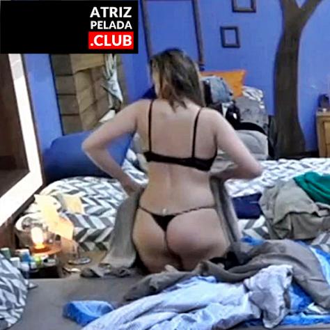 """Ana Paula Renault SUPER RABUDA com calcinha fio dental minúscula em """"A Fazenda 10"""""""