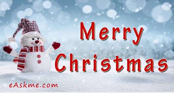 Merry Christmas : eAskme Wishing You All Happy Holidays: eAskme