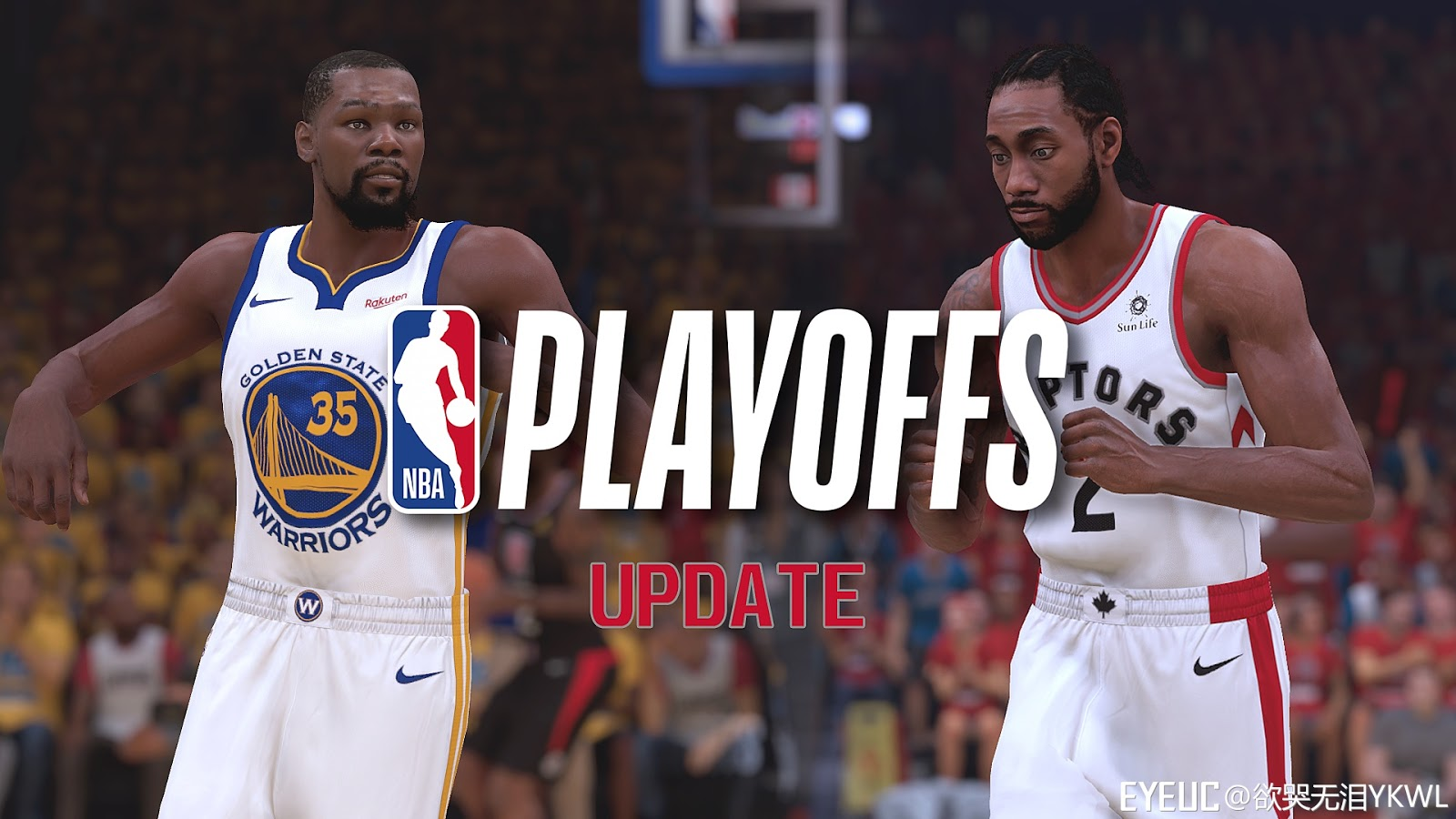 016b67105e3f NBA 2K19 - Realism Courts   Arenas Playoffs Update v3 (Raptors and ...