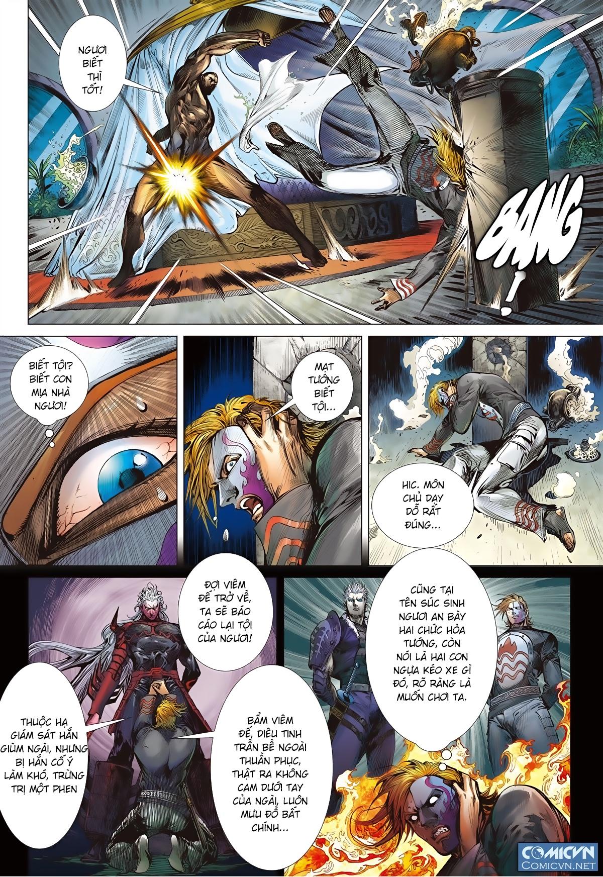 Sơn Hải Nghịch Chiến Chap 81 - Trang 4