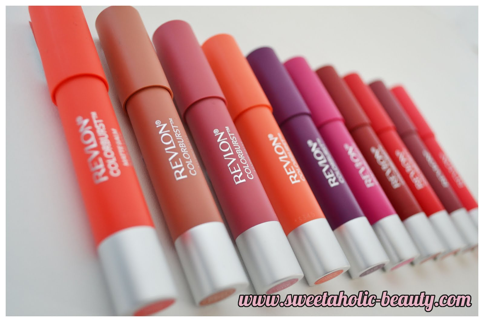 Revlon Colorburst Matte Balms Review & Swatches - Sweetaholic Beauty
