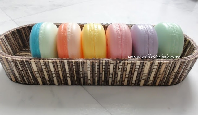 All it's skin macarons in basket