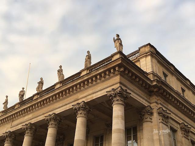 Ruta Oeste Francia Teatro Ópera Burdeos
