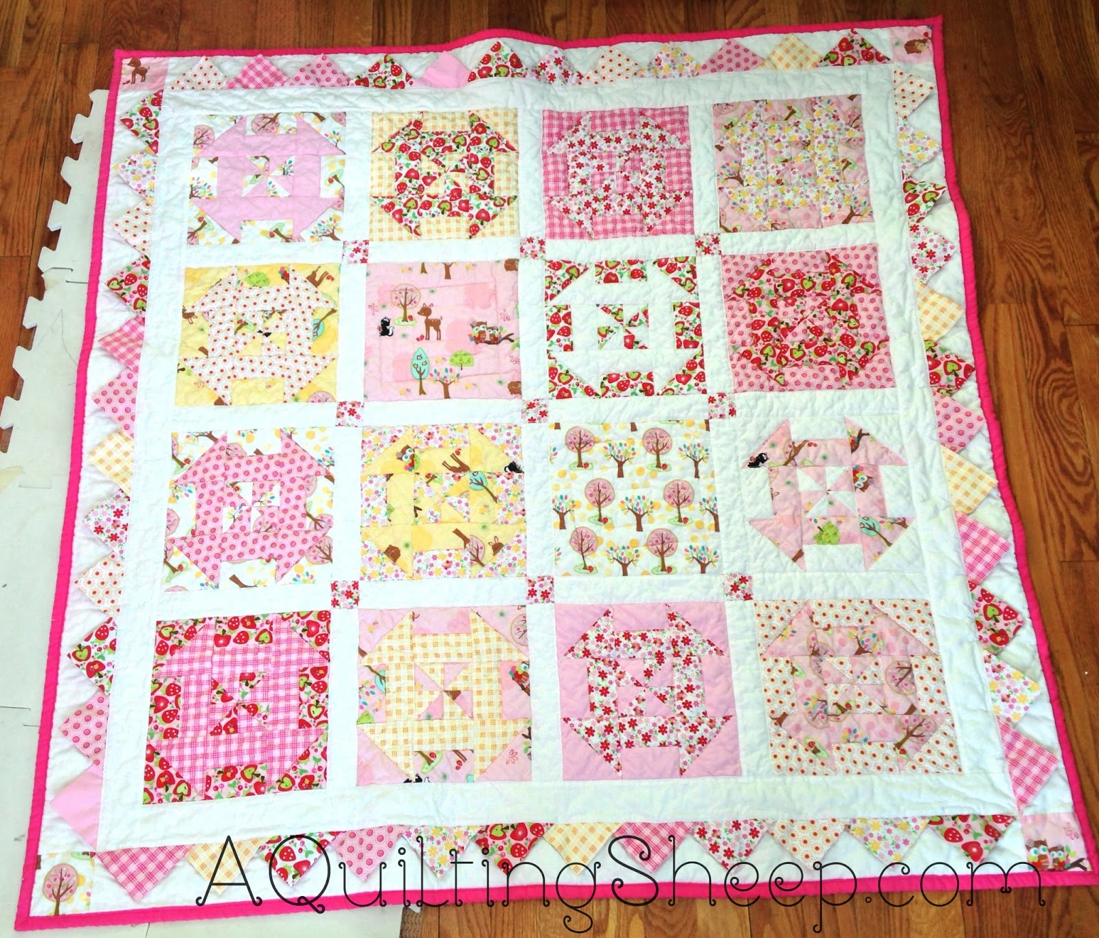 Baby Quilt Missouri Quilt Company
