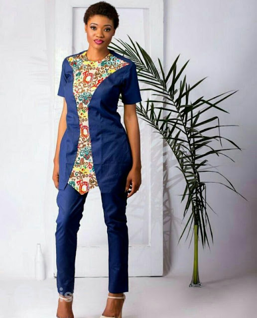 Plain and Pattern Trouser and Top Styles for Ladies