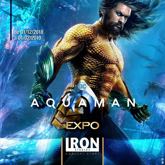 Aquaman Iron Studios