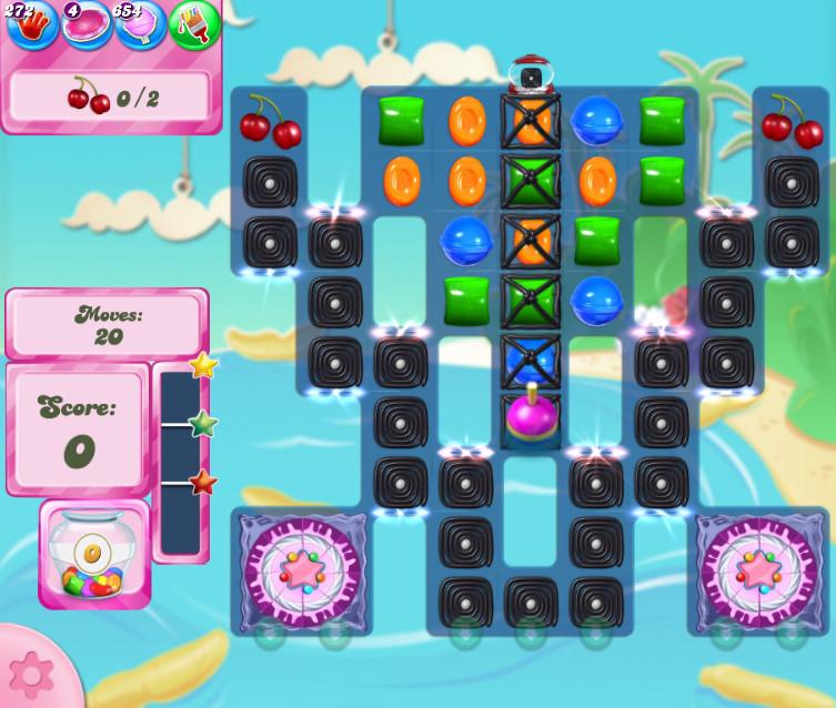 Candy Crush Saga level 2677