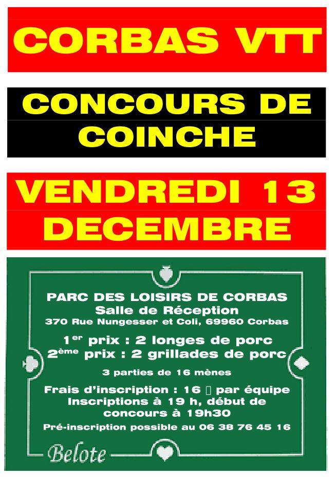 Corbasvtt Concours De Coinche 2019