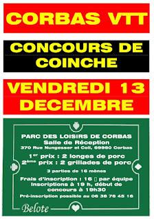 Concours coinche corbas vtt