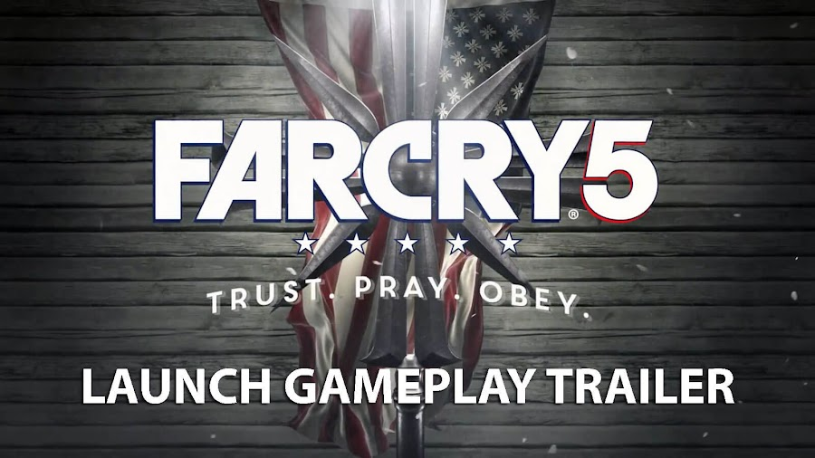 far cry 5 pc gameplay trailer