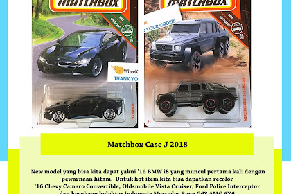 Matchbox Case J 2018