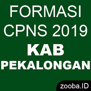 Formasi Resmi CPNS 2019 Kabupaten Pekalongan