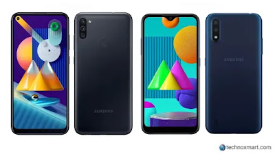 Samsung Galaxy M11, Galaxy M01 Launched With 19.5:9 Display In India: Check Price, Specifications & More