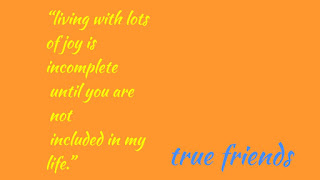 A quote for the friends