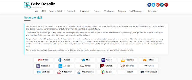 Fake Email Generator – Best Website to Create Fake Email