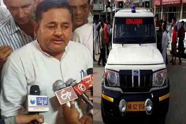 haryana-bjp-leader-darshan-nagpal-killed-patient-in-ambulance