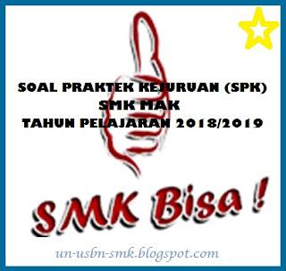 Soal Praktek Kejuruan (SPK) Administrasi Perkantoran SMK Tahun Ajaran 2018  2019 9b00e14653