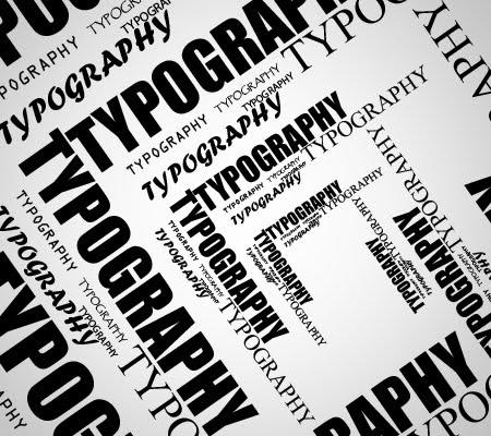 Tipografi adalah ilmu yang mempelajari tentang seni dan desain huruf