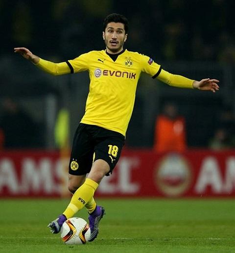 Sahin từng có những đóng góp lớn cho Dortmund