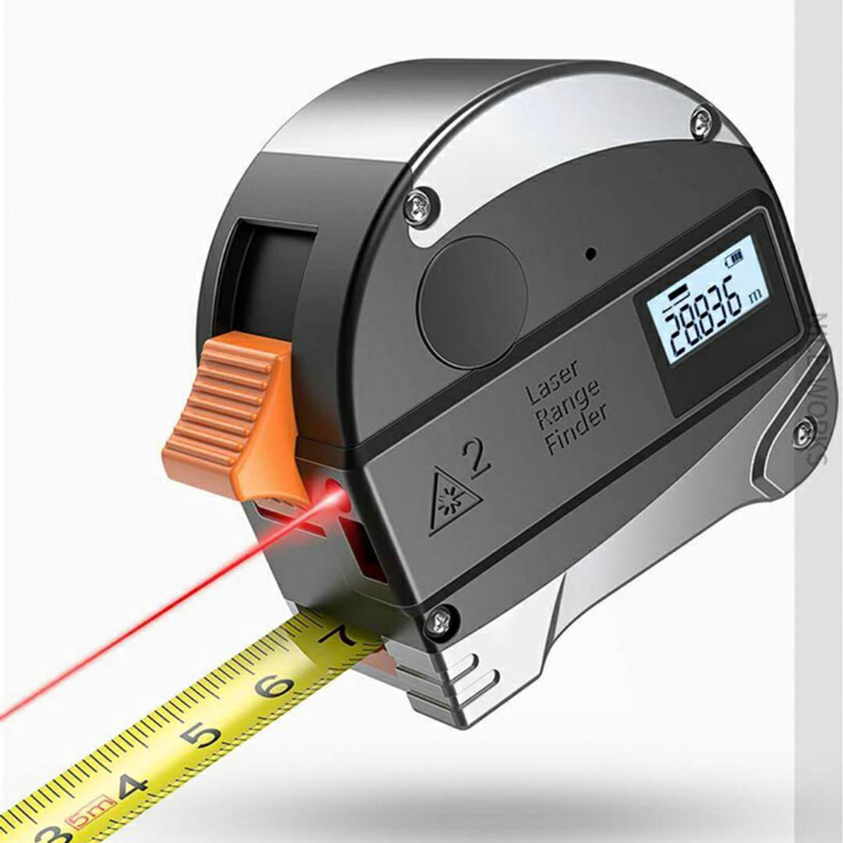 LCD Handheld Digital Laser Point Distance Meter Tape Range Finder Measure 40m
