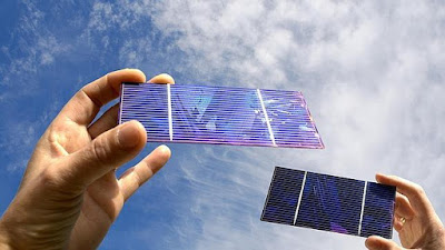 Cómo con los paneles solares