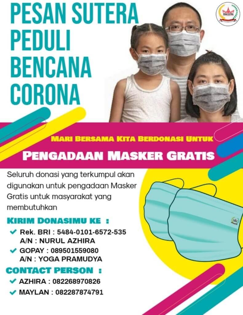 masker untuk masyarakat