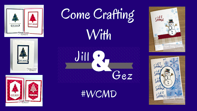 Facebook Live Replay #WCMD Come Crafting With Jill & Gez