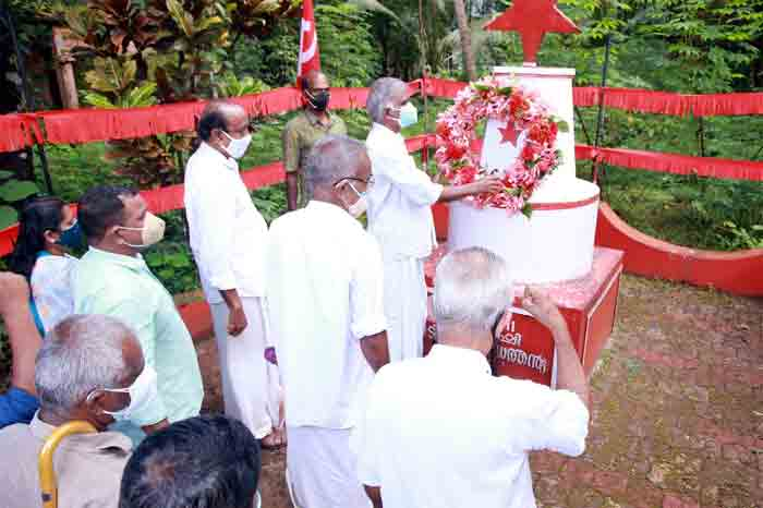 News, Kerala, Kasaragod, Martyrdom, TK Gangadharan, 38th Martyrdom,