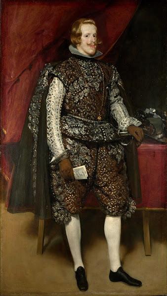 Диего Веласкес - Портрет Филиппа IV (1631-1632)