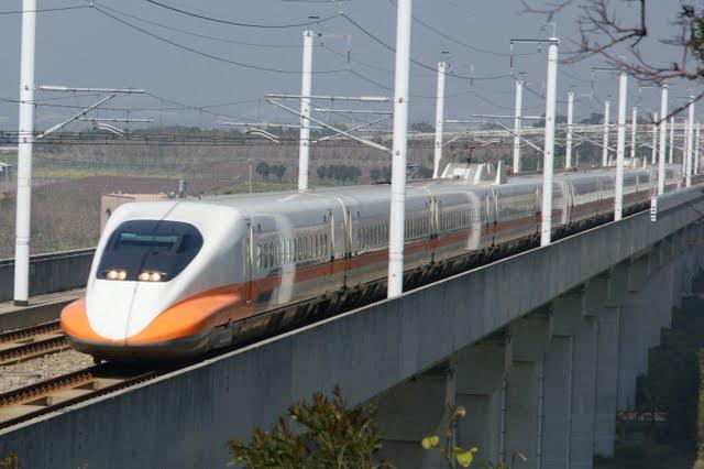 Blair's 鐵道攝影: 臺灣高鐵(THSR) 700T型列車