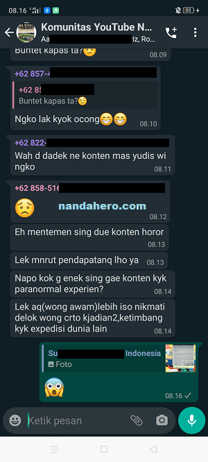 cara aktifkan dark mode whatsapp iphone